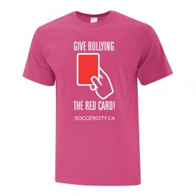 [ATC] SOCCER CITY 'PINK SHIRT DAY' - ADULT SIZES